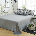 Premium 4 in 1 bedsheet random colour-DT491