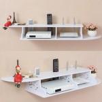 Style Wooden TV Rack Organizer (2kg)-DT493