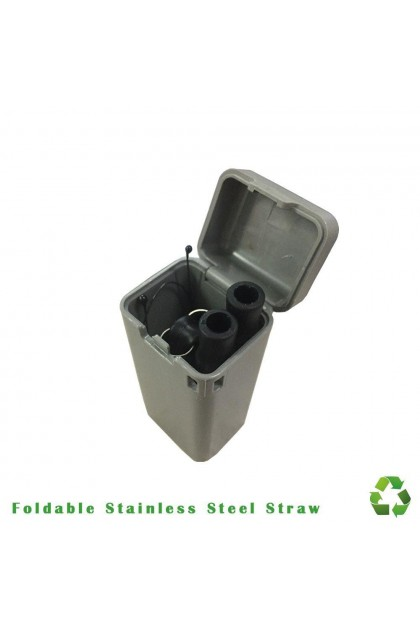 Foldable Stainless Steel Straw-DT494