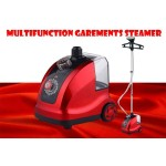 Multifunction 12 Mode Garment Steamer Iron Standing Hanging 1800W 1.8L-DT496