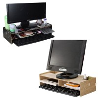 Wooden Monitor Organizer Rack-DT505