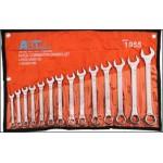 AB Tools 14 PCS Combination Spanner Set 8-24mm-DT516
