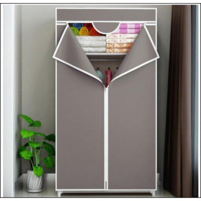 Zipped Wardrobe With Spacious Storage And Strong Steel Structure (2.5kg)-DT517