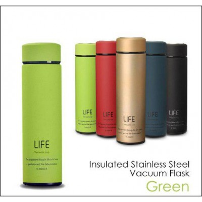 Stainless Steel LIFE Vacuum Cup Vacuum Flask Thermos Bottle-DT522