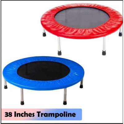 38 Inches Trampoline for Fitness and Heath Training (5kg)-DT524