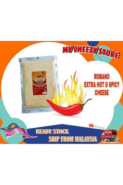 ROMANO Extra Hot spicy Cheese Powder 200gm DT555