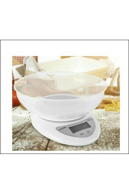 Electronic Kitchen Scale With Bowl (5kg/1gm) - DT549