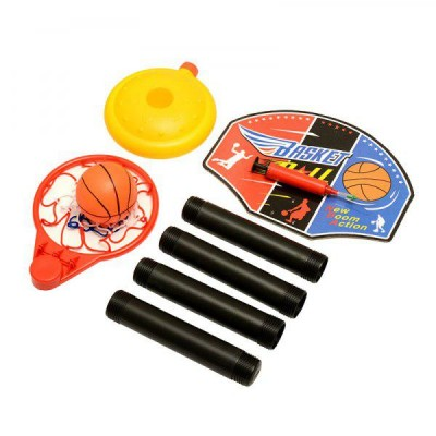 Adjustable Basketball Stand Game Set (With Basketball Stand (1kg) - DT547
