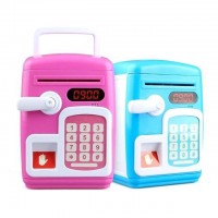 SAVING BOX FOR KIDS WITH FINGERPRINT AND MUSIC - DT569
