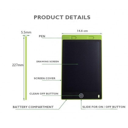 LCD WRITING TABLET (1KG) - DT561