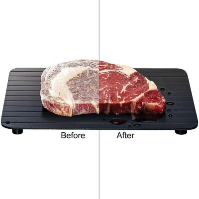 Aluminium Defrosting Plate Steak Frozen Food Meat Quick Thawing Plate- DT525