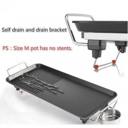Korea Portable Electric BBQ Rectangle Grill Non-Stick Multi Function Grill (3.5KG) - DT544