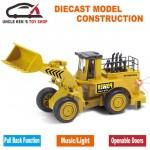 Dream Becomes True Die Cast Metal & Plastic Bulldozer - DT600