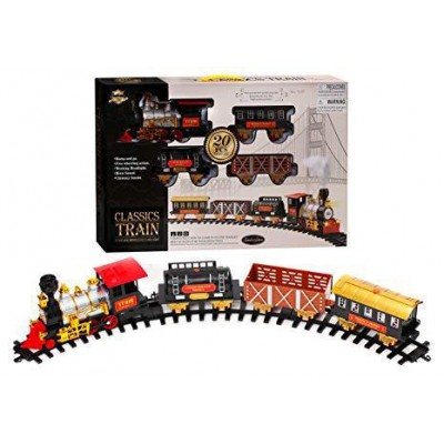 Classic Train Toys Set Light,Sound & Smoke Screen (2kg) - DT629