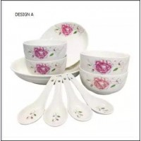 10 Pcs Set Porcelain Dishes Set Bowl (2KG) -DT634