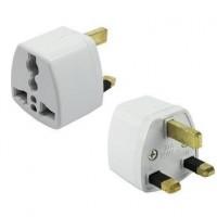 UK 3 Pin Universal Travel Plug Socket Adapter -DT665