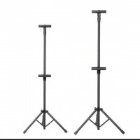 Tripod Banner Stand Adjustable Banner Bunting Poster Tripod Stand Double Sided Clip - DT666