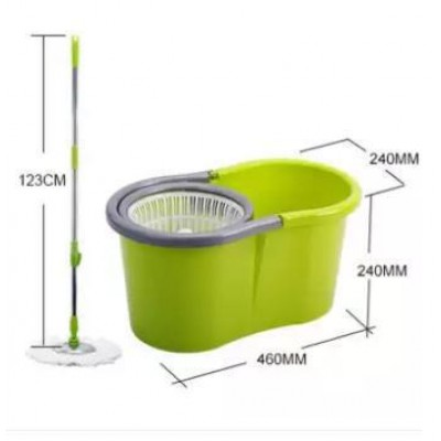 Microfiber Spin Mop with Cleaner Bucket - DT669