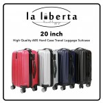 LALIBERTA High Quality ABS Hard Case Travel Luggage (20 inchi – 3kg) - DT675
