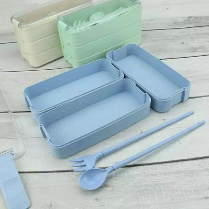 3 TIERS BENTO MF4 LUNCH BOX - DT684