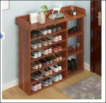 Japanese Style 7 Tiers Shoes Cabinet Shoe Rack-DT847