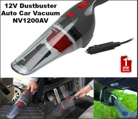 BLACK + DECKER NV1200AV Dustbuster Auto Car Vacuum Cleaning - DT852