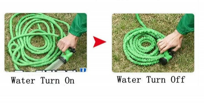 Magic Hose 25feet Length Green Color