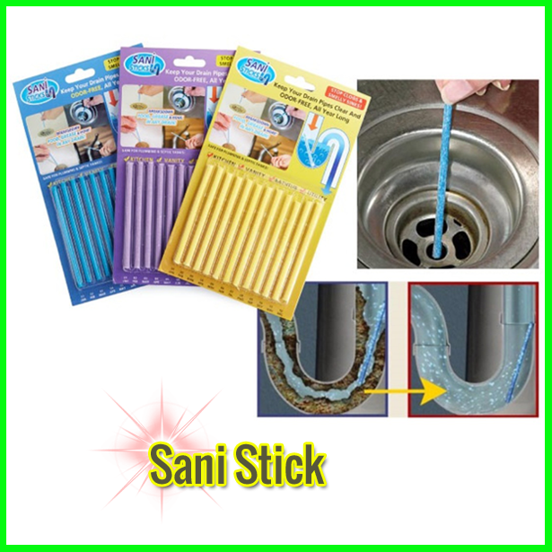 Sani Sticks Kitchen Sink and Bathtub Drain Cleaner DT274