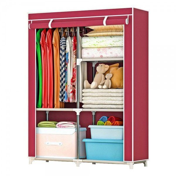 Large Wardrobe with spacious storage and strong steel - DT472