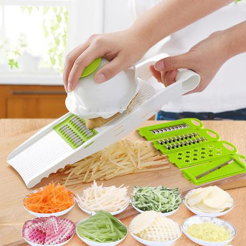 Vegetable slicer blades set 5 in 1 - DT462