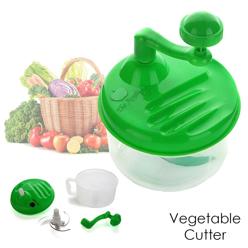 Multifunctional In Wall Kitchen Wash Vegetables Mixing: Manual Multifunctional Large Capacity Vegetable Cutter And