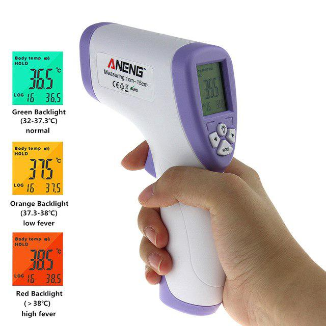Infrared Thermometer Non Contact Baby Adult LCD Monitor - DT354